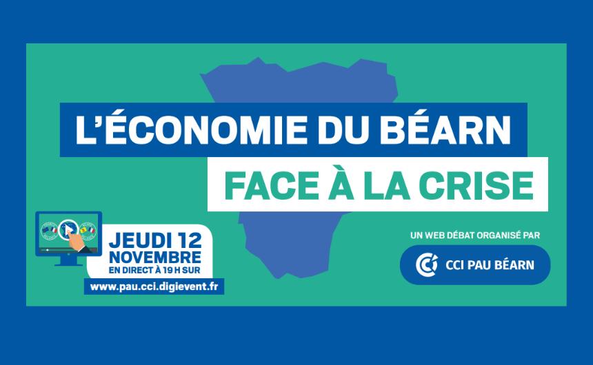 Web-débat : l'économie du Béarn, 12 novembre 2020