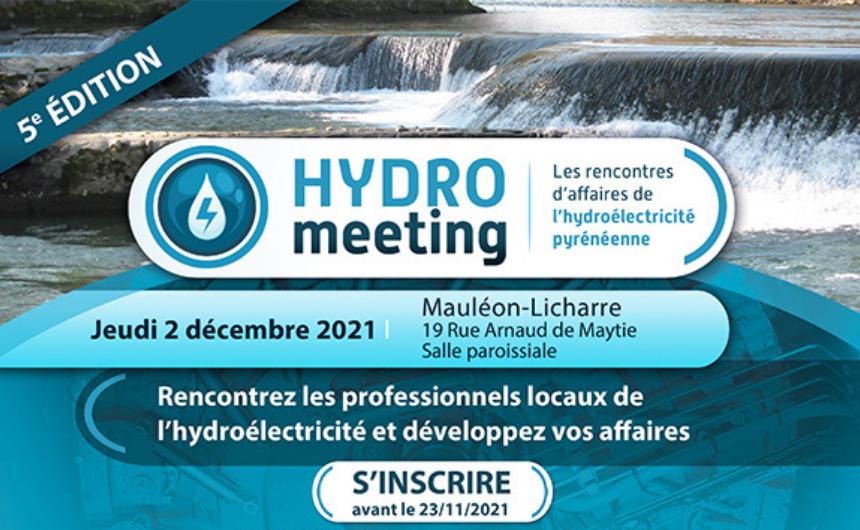 Hydromeeting 2021 – Jeudi 2 décembre, Mauléon
